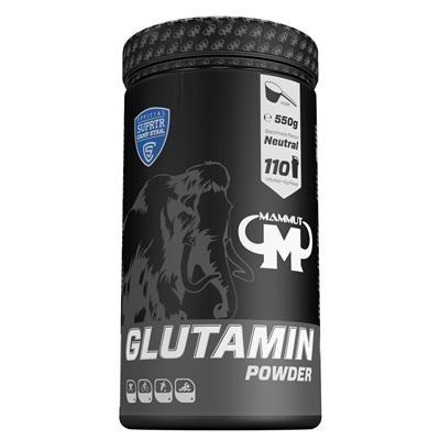 GLUTAMIN POWDER - 550 G DOSE